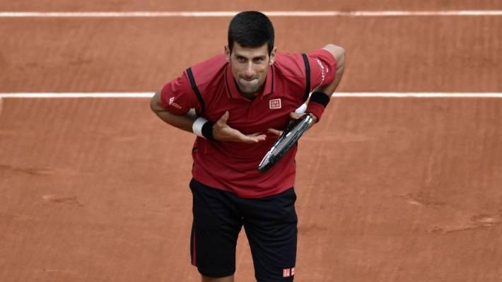 Novak Djokovic-Roland-Garros