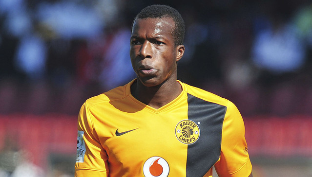 Camaldine Abraw of Kaizer Chiefs during the 2015 King's Super Cup match between Mbabane Swallows and Kaizer Chiefs  at the Somhlolo Stadium in Mbabane, Swaziland on July 18, 2015 ©Muzi Ntombela/BackpagePix
