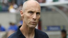 22 June 2011: Head coach Bob Bradley of USA of Panama during a CONCACAF Gold Cup semi-final match at Reliant Stadium in Houston, Texas. USA won 1 to 0.