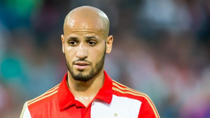 ROTTERDAM - Feyenoord - FC Utrecht , Voetbal , Seizoen 2015/2016 , Eredivisie , Stadion de Kuip , 09-08-2015 , Speler van Feyenoord Karim El Ahmadi