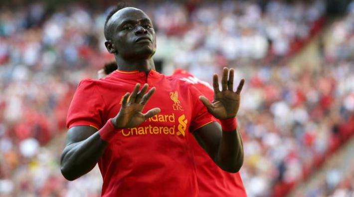 IMAGE DISTRIBUTED FOR INTERNATIONAL CHAMPIONS CUP - Liverpool's Sadio Mane during the match between Liverpool FC and FC Barcelona, on Saturday, Aug. 6, 2016, in London. (Paul Harding/AP Images for International Champions Cup)
