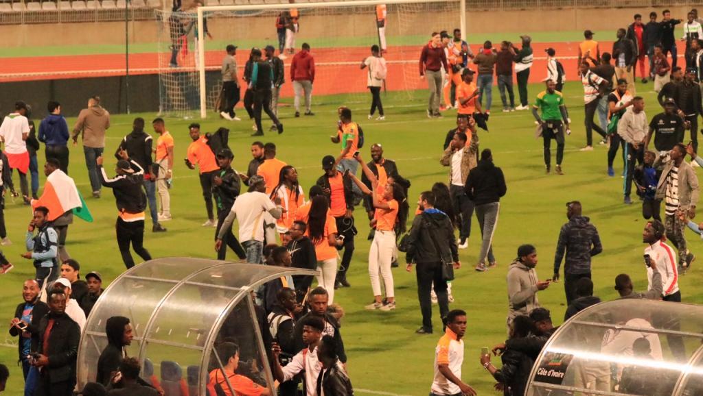 Match interrompu entre Sénégal et Côte d'Ivoire — Amical