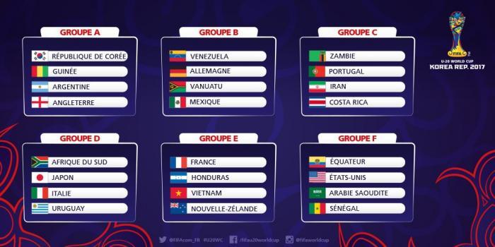 Mondial U20 : la Guinée affrontera la Corée du Sud en match d'ouverture