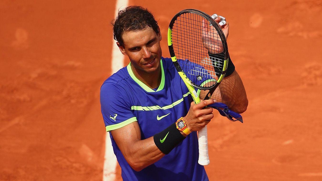 Roland-Garros: Nadal en huitièmes en pulvérisant Basilashvili