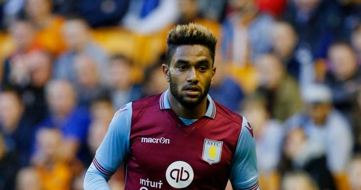 Football - Wolverhampton Wanderers v Aston Villa - Pre Season Friendly - Molineux - 15/16 - 28/7/15 Aston Villa's Jordan Amavi Mandatory Credit: Action Images / Craig Brough  EDITORIAL USE ONLY. - RTX1M9TC