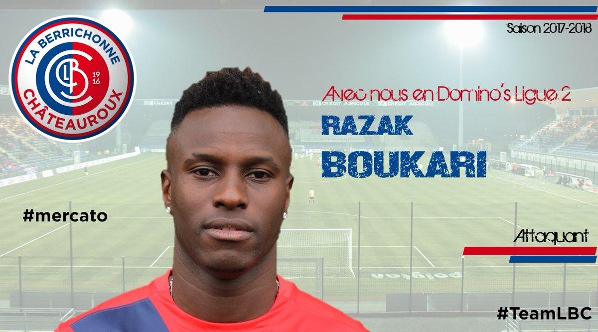 3 ans de plus à Chateauroux — Afrique Razak Boukari