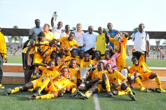 L'ASEC remporte la Super Coupe face à Africa Sport — Afrique Côte d'Ivoire