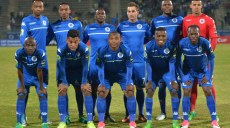 Supersport United Team picture during the Caf Confederation Cup match between Supersport United and TP Mazembe at the Lucas Moripe Stadium in Pretoria on 20 June 2017 ©Samuel Shivambu/BackpagePix