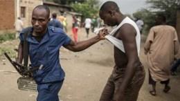 arrestation au Burundi