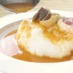 Ghanian Fufu and Light Soup