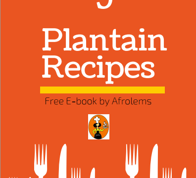 Plantain recipes free book