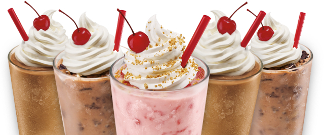 Sonic Drive-In Half Price Shakes  Ice Cream Slushes (May 25th Only)