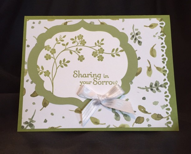 Lost Loved Ones Card, Sympathy Card, With Sympathy Card, Pet Symp