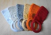Crochet Towel Holder Rings | aftcra