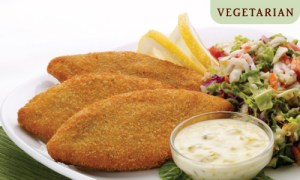 Vegetarian Fish Fillets from Pure Vegetarian