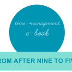 September Giveaway #7: Time Management E-Book