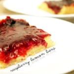 Recipe: Lemon Raspberry Bars