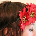 DIY Poinsettia Headband