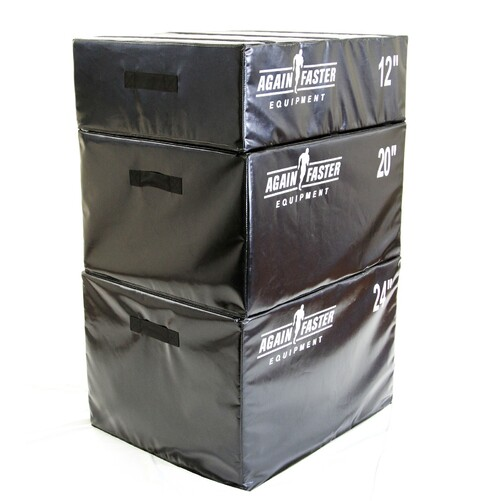 Foam Plyo Box Set Conditioning Tool Again Faster Equipment