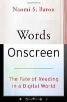 Words Onscreen book jacket