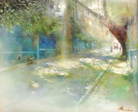 予感の森に旅してⅡ - ひかりの散歩道