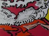 片岡球子「雲遊ぶ富士」(リトグラフ)→売却済み