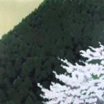 東山魁夷「春静」(木版画)