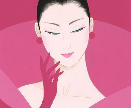 鶴田一郎「大輪の花」