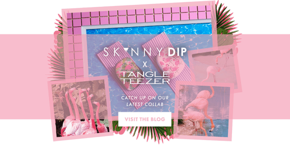 Tangle Teezer  skinny Dip Agata collab