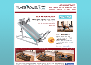 Pilates Power Gym PLUS - The ultimate in home reformer pilates equipment