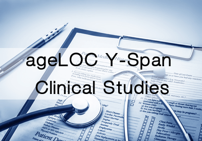 ageLOC Y-Span Clinical Studies