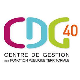 CDG 40, logo, Caractères, Aquitaine, Landes