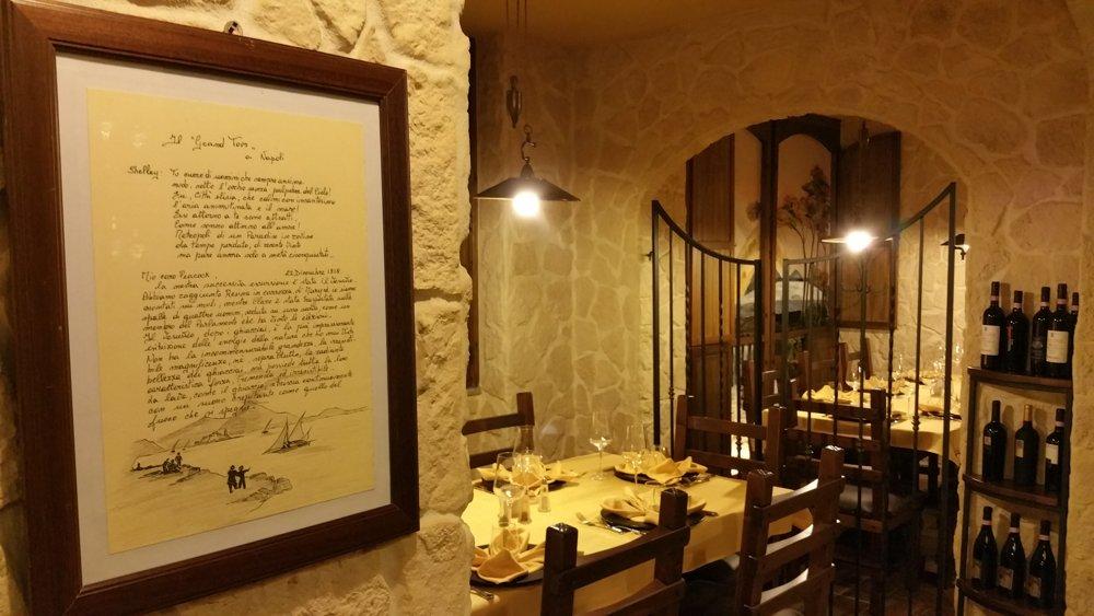La Cena di San Valentino è al ristorante La Via delle Taverne ad Atripalda