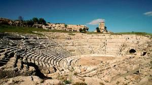 Il Teatro Greco di Siracusa in Sicilia
