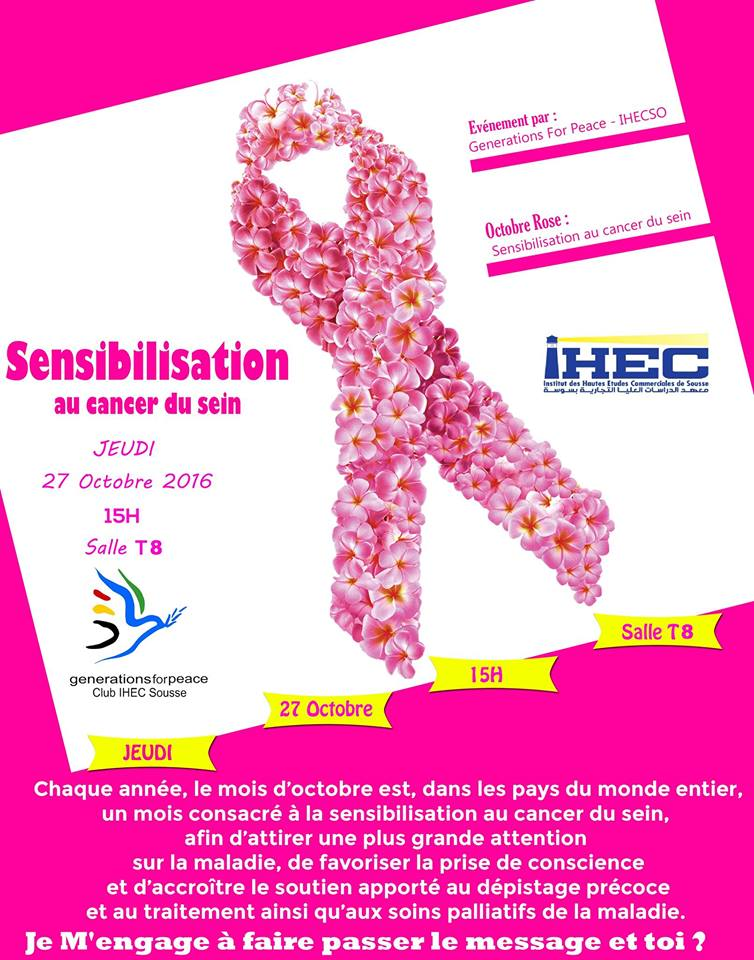 Breast Cancer Awareness Event ⛔Agenda des évènements ⛔