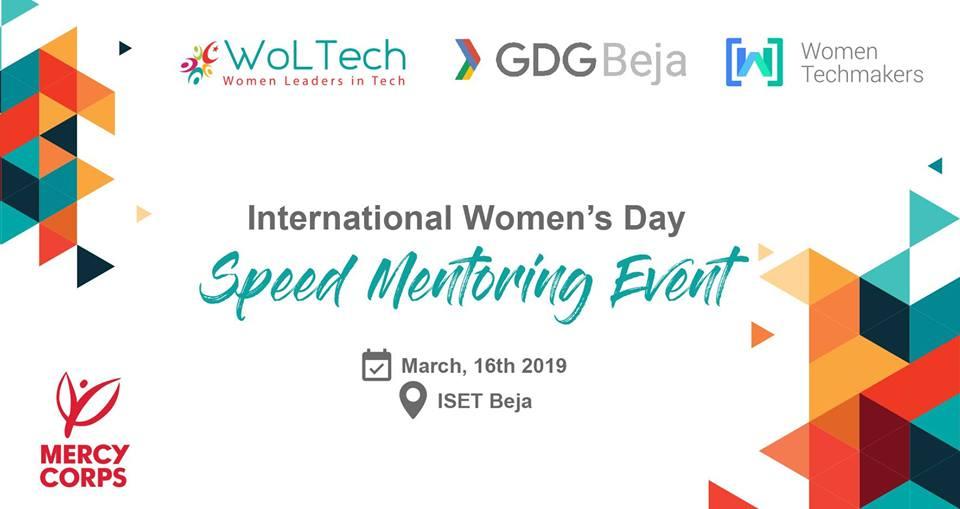 International Women\u0027s Day « Speed Mentoring Event » ⛔Agenda des