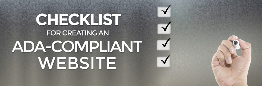 Checklist For Creating An ADA-Compliant Website - Agent Image - creating checklist