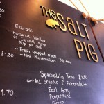 The Salt Pig's Menu
