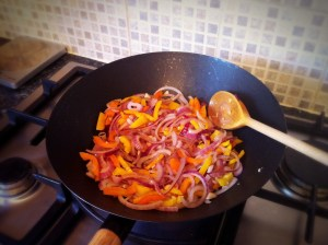 Hot & Sour Chicken Stir-Fry - Frying the Peppers