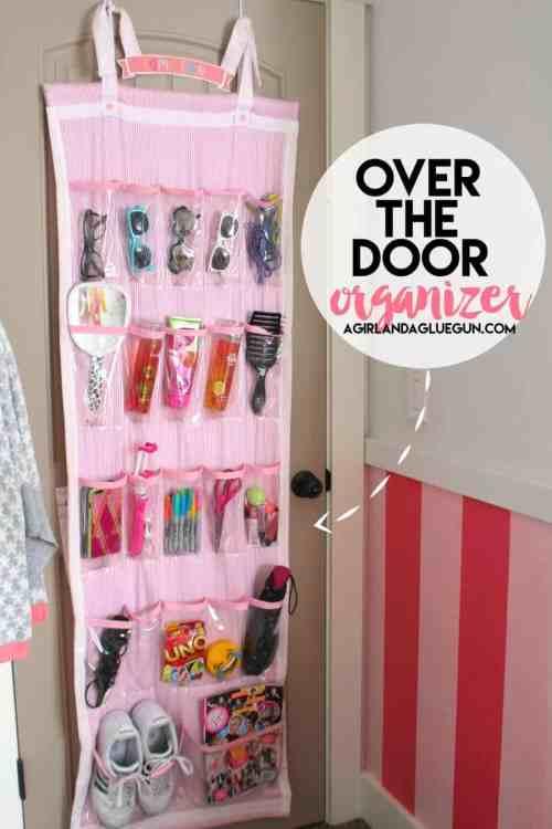 Medium Of Over The Door Organizer