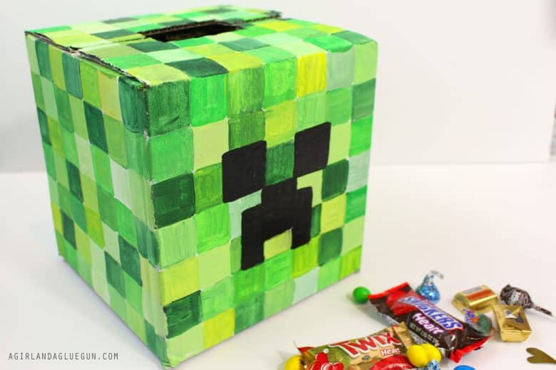 Valentine Day39s Boxes For School With Plaid Crafts A