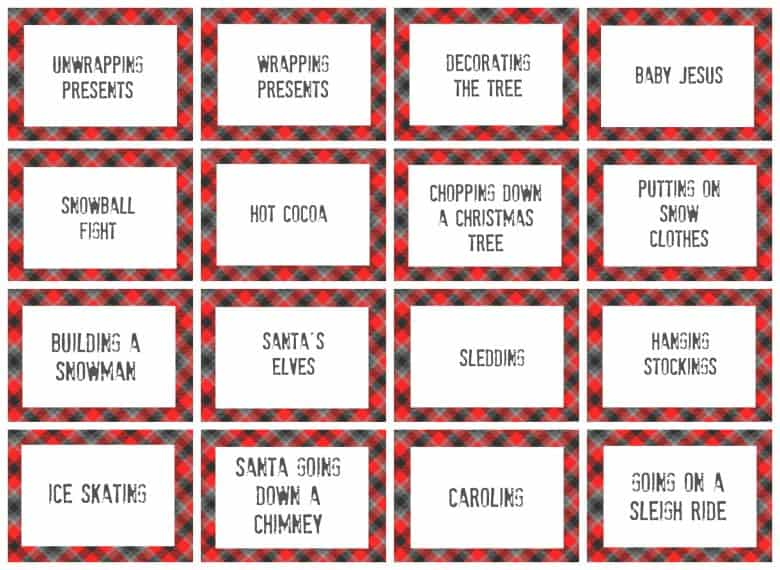 Baby Shower Charades Words Baby Shower Ideas