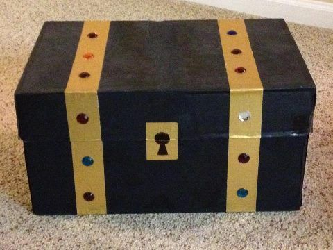 Shoe Box Crafts For Kids A Girl And A Glue Gun