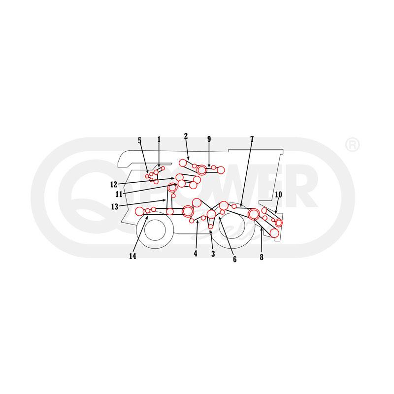 1660 combine wiring diagram
