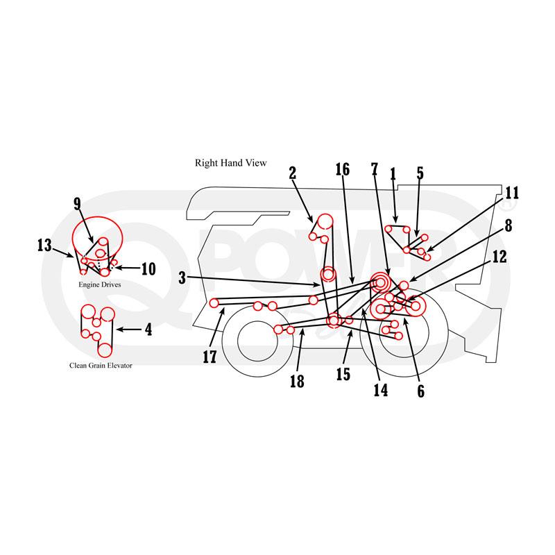 john deere 6600 combine wiring diagram