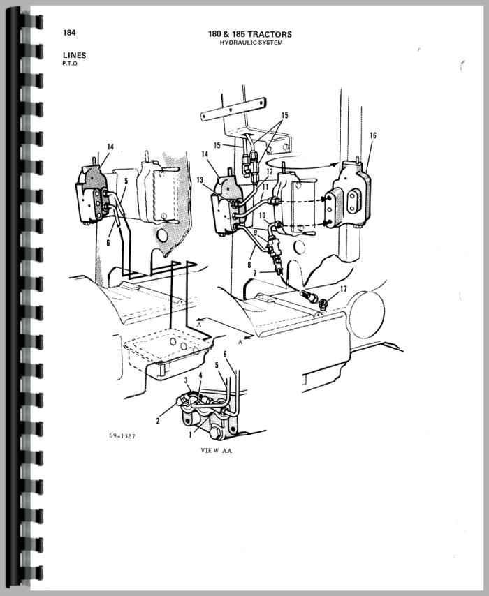 allis chalmers 180 wiring diagram