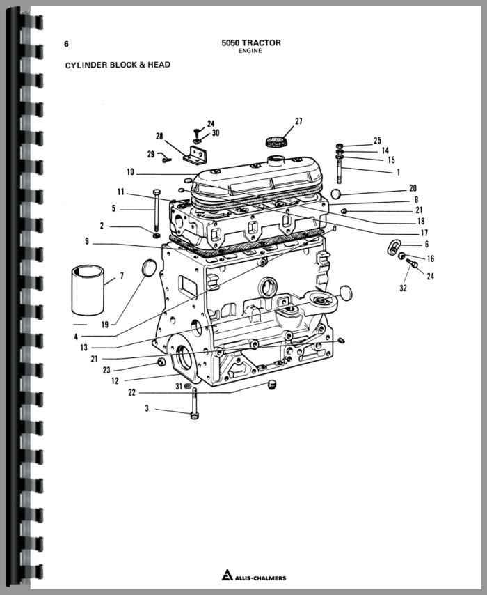 allis chalmers wiring schematic d15