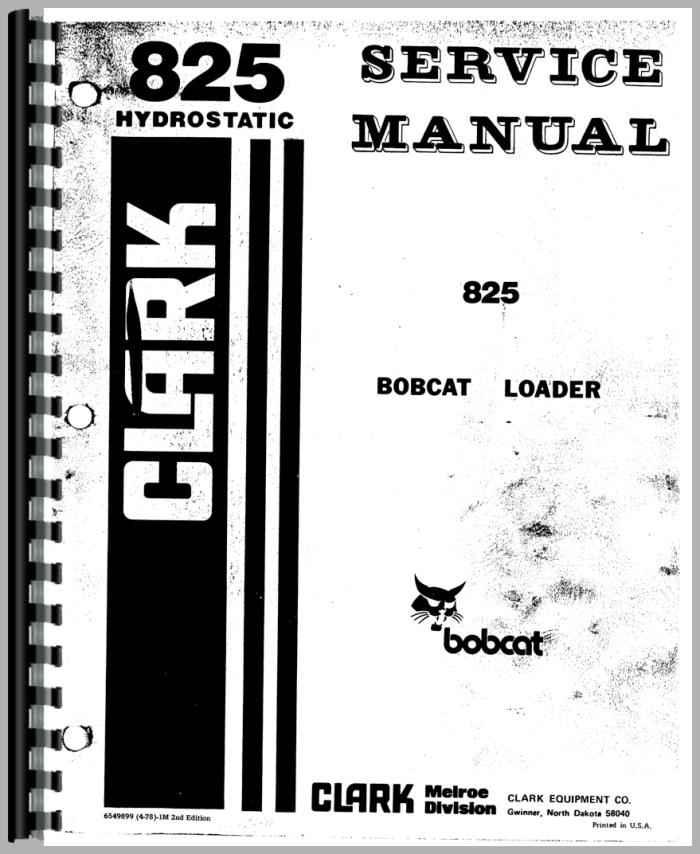 bobcat 825 fuel filters