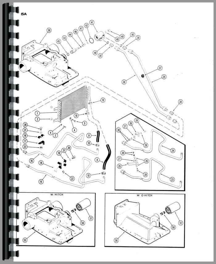 wiring diagram for 1030 case