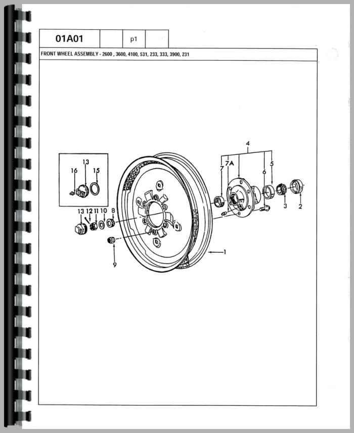 Ford 7700 Wiring Diagram Wiring Diagram 2019